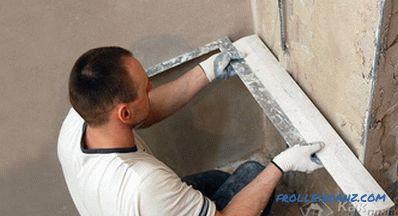 Super Wie man die Ecken der Wände vergipst - die Ecken verputzen JJ69