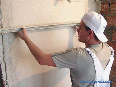 Bekannt Wie man die Ecken der Wände vergipst - die Ecken verputzen VT61