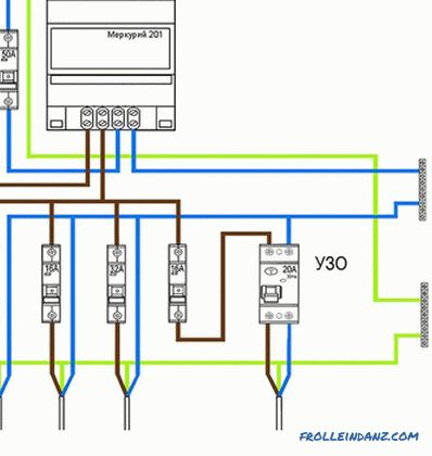 Schaltplan Fi Schalter Anschluss - Wiring Diagram