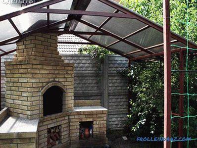 Wie macht man ein Vordach aus Polycarbonat?